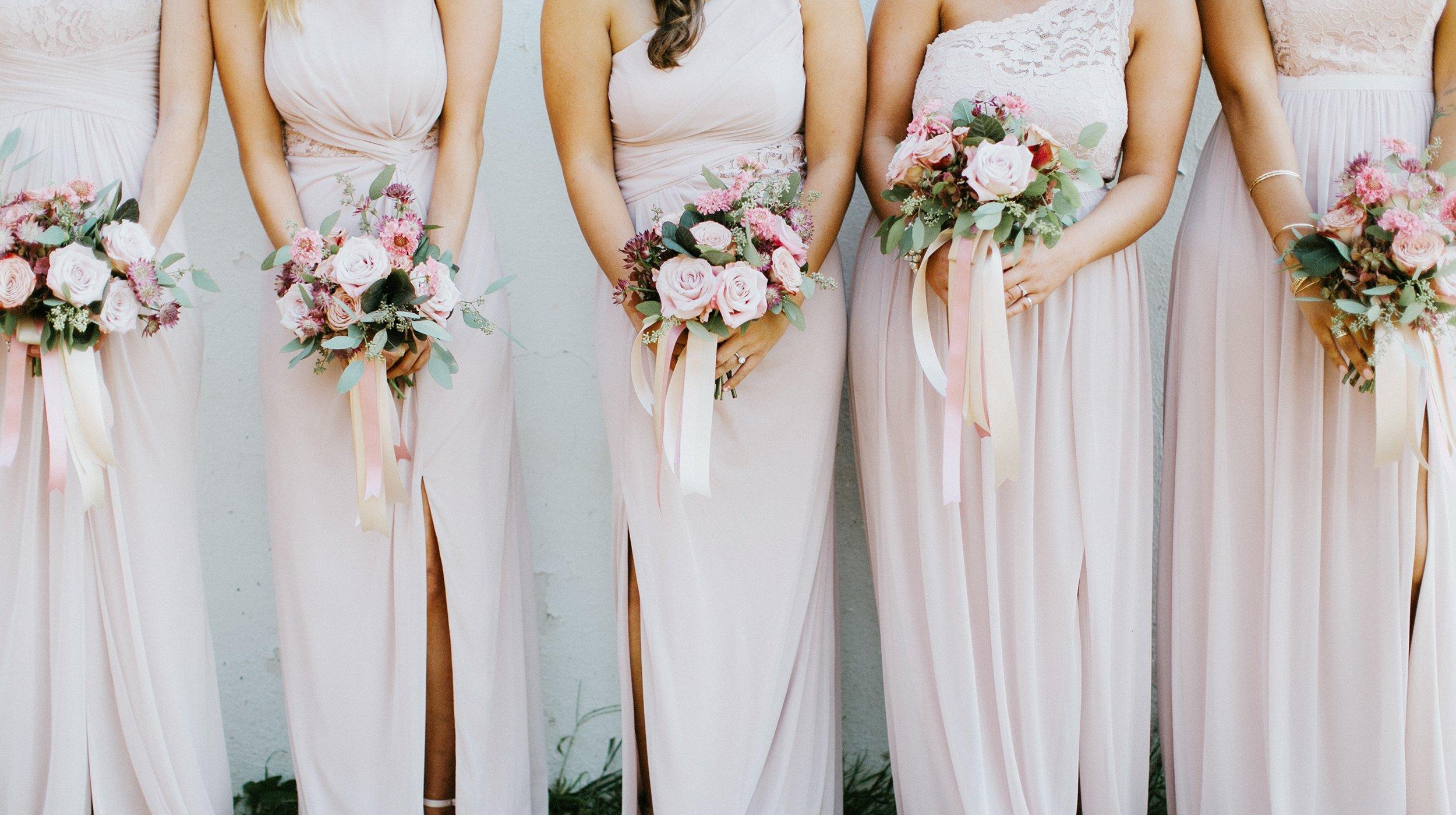 Kleider für Brautjungfern