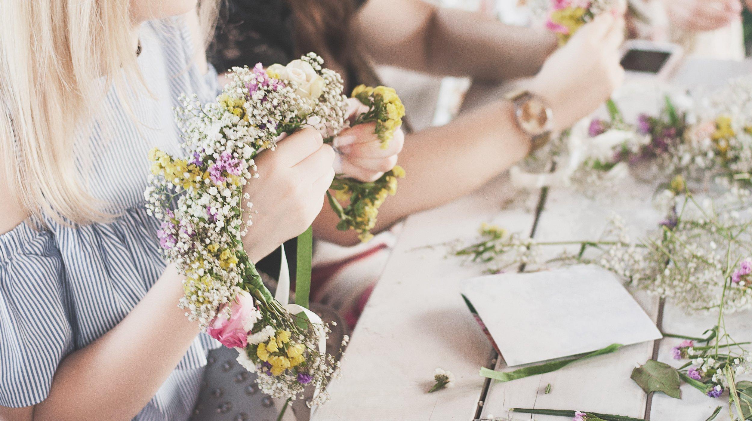 Hochzeitsdeko basteln